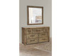 QUEEN WINSLOW ACACIA  6 PIECE (THE LOT) BEDROOM SUITE - AS PICTURED