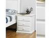 DOUBLE OR QUEEN ANNISTON 5 PIECE (DRESSER) BEDROOM SUITE - ARCTIC