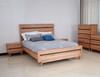 BIRMINGHAM QUEEN 4 PIECE (TALLBOY) BEDROOM SUITE - RUSTIC OAK