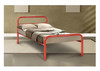 KING SINGLE BUDGET 1 RAIL BED - ASSORTED COLOURS