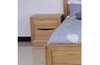GREENVILLE 2 DRAWER BEDSIDE TABLE  - NATURAL OAK