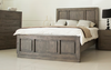 DOUBLE JASPER TIMBER BED - AS PICTURED
