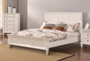 QUEEN SHONTO TIMBER BED - AS PICTURED