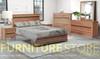 ARKANSAS QUEEN 3 PIECE (BEDSIDE) BEDROOM SUITE - AS PICTURED
