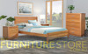 ALAMEDA KING 3 PIECE (BEDSIDE) BEDROOM SUITE - AS PICTURED