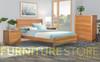 ALAMEDA QUEEN 3 PIECE (BEDSIDE) BEDROOM SUITE - AS PICTURED