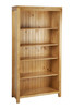 CALISTOGA (7x5) HIGHLINE BOOKCASE WITH T-BAR - 2100(H) x 1500(W) - ASSORTED COLOURS