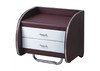 CAMROSE LEATHERETTE BEDSIDE TABLE (MODEL:11#) - ASSORTED COLOURS