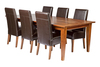 FASCINATION 7 PIECE DINING SETTING (WITH 6 ANTICA DINING CHAIRS) WITH 2200(W) x 1100(D) TABLE - AS PICTURED