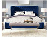 KING LEVI LEATHERETTE BED (MODEL:A630) - ASSORTED COLORS