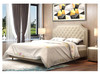 KING HARLEY LEATHERETTE BED (MODEL:A639) - ASSORTED COLORS