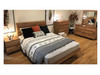 ALDRIDGE DOUBLE 3 PIECE (BEDSIDE) BEDROOM SUITE - AS PICTURED