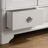 BLAIRE  2 DOOR/1 DRAWER WARDROBE - WHITE