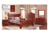 DERBY MIRROR - 1100(H) x 1050(W) - LIGHT MAHOGANY