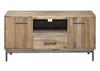 CHEFFIELD LARGE TV UNIT - 600(H) x 1850(W) x 470(D) - RUSTIC BARN LIGHT