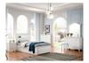 SINGLE HALIMA LIFT UP BED - STORAGE HEADBOARD WITH LED LIGHT  (LS-716KS) - IVORY WHITE