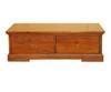 DONSILIA 2 DOOR  COFFEE TABLE - ( MODEL- 11-1-11-1-4-21 ) - 750(H) X 1350(W)  - RUSTIC