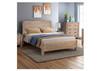 DOUBLE JARVAN BED - CLASSIC OAK
