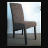 2067 FABRIC DINING CHAIR - OLIVE (SLIGHTLY LIGHTER THAN PICTURED)