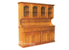 HAMILTON BUFFET & HUTCH - 4 DOOR / 4 DRAWER - 2100(H) x 1700(W) - ASSORTED COLOURS