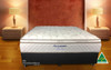 DOUBLE BODYCARE PILLOW TOP ENSEMBLE (BASE & MATTRESS) - CHOICE OF BASE COLOURS - GENTLY FIRM