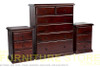 CRONULLA 3 PIECE CHEST SET (3+3+6) - BALTIC , WALNUT , NUTMEG , GREYWASH (PICTURED)
