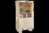 AQUARIUS STORAGE BOOKCASE - 1800(H) X 900(W) - WHITE