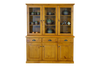 BATHURST BUFFET AND HUTCH 6 DOORS / 3 DRAWERS  - 1520(W) X 420(D) - RUSTIC