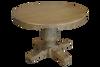 BRISTOL ROUND DINING TABLE - 1200(DIA) - RUSTIC ELM
