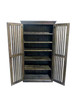 CRYSTAL SHOE CABINET 6x3 - 1800(H) x 900(W) - ASSORTED COLOURS