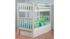 SINGLE SUSSEX/AWESOME BUNK BED WITH MATCHING UNDERBED DRAWERS - ARCTIC WHITE