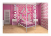 SINGLE VALENTINE 4 POSTER BED - CHOICE OF COLOURS