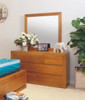 CLAREMONT DRESSING TABLE WITH MIRROR - CHOICE OF COLOURS