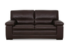 FONTANA 3 SEATER + 2 SEATER FULL LEATHER LOUNGE (ITALIAN M1) - (3 SEATER NOT PICTURED)