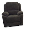 RIALTO FABRIC RECLINER (SUEDE) - AS PICTURED
