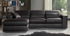 VICENZA 3 SEATER FULL LEATHER CHAISE (ITALIAN M2/S)