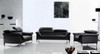 ODETTE (F6039) 1 SEATER + 2 SEATER + 3 SEATER LEATHER/ETTE COMBINATION LOUNGE SUITE - ASSORTED COLOURS