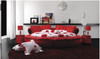 QUEEN MARY LEATHERETTE BED (03) - ASSORTED COLOURS