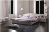 QUEEN FRANCES LEATHERETTE BED (A8156) - ASSORTED COLOURS