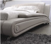 KING SKYLAR-ROSE LEATHERETTE BED (A8178) - ASSORTED COLOURS