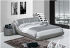 KING NICOLAI ANDREA LEATHERETTE BED (A9008) - ASSORTED COLOURS