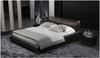 KING VICTOR EMMANUEL LEATHERETTE BED (A9025) - ASSORTED COLOURS
