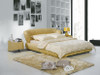 QUEEN DAVIDSON LEATHERETTE BED (A9112) - ASSORTED COLOURS