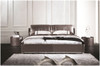 KING ATREUS LEATHERETTE BED (A9057) WITH GAS LIFT UNDERBED STORAGE - ASSORTED COLOURS