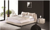 QUEEN ARMANI LEATHERETTE BED (A9086) - ASSORTED COLOURS