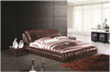 QUEEN ROSSO LEATHERETTE BED (A9903) WITH GAS LIFT UNDERBED STORAGE - ASSORTED COLOURS