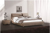 RENARD KING 3 PIECE BEDSIDE BEDROOM SUITE - LEATHERETTE - ASSORTED COLOURS (WITH OPTIONAL UPGRADE FOR GAS LIFT UNDERBED STORAGE)