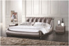 QUEEN GAUTHIER LEATHERETTE BED (A9915) - ASSORTED COLOURS
