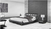 KING JANSEN LEATHERETTE BED (A9917) - ASSORTED COLOURS
