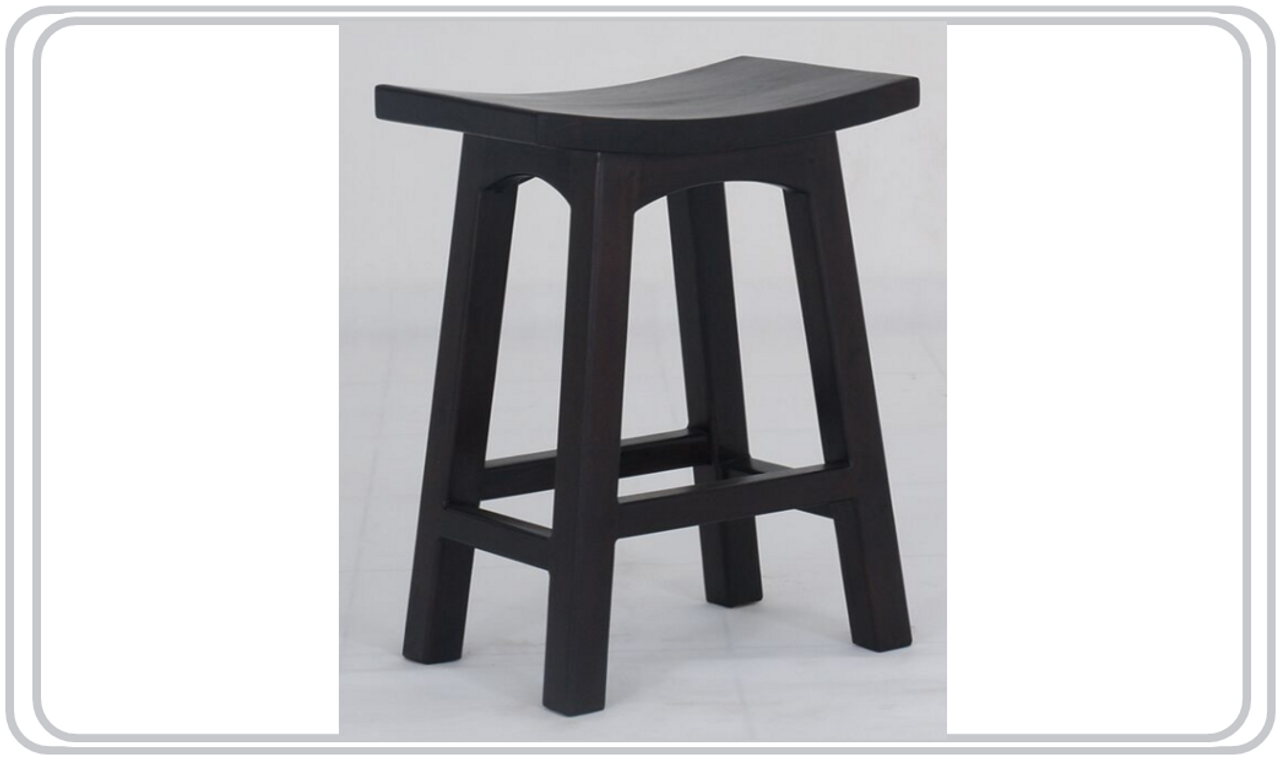 Picture of: Latson Wooden Bar Stool Kitchen Bench Br067wd Seat 670 H Mahogany Or Chocolate My Furniture Store Furniture And Bedding Super Store Australia